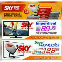 Sky Tv Direto Para Sua Casa