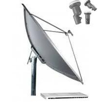 Antena Parabolica Com Receptor Digital