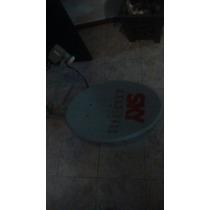 Antena Parábolica(sky 1 Ano De Uso)