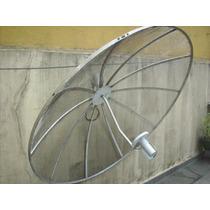 Antena Parabólica Somente A Parábola De 1.60 Metros+lnbf