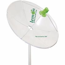 Antena Parabolica De Chapa Fechada Banda C E Ku 150 Cm 1,50m