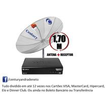 Kit Antena Digital Com Lnbf Multiponto + Receptor Digital