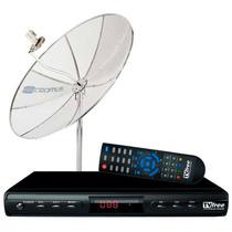 Kit Tv Free-antena+receptor Digital/analógico Tvft15-cromus