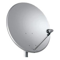 Antena 60 Cm + Lnbf Duplo Banda Ku Off Set + Cabos 20 M Rg