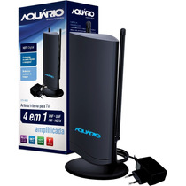 Antena Interna Digital Amplificada Dtv-4600 Aquário