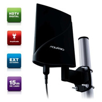 Antena Externa Tv Vhf/uhf/fm/hdtv Digital Dtv-5600 Aquário