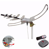 Antena Externa Capte Amplificada 35db 4/1 Vhf Uhf Digital Fm