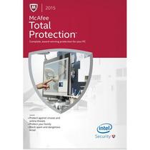 Mcafee Total Protection 2016 Para 3 Pcs 1 Ano