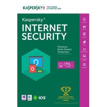 Licenca Kaspersky Internet Security 2016 - 3 Pc