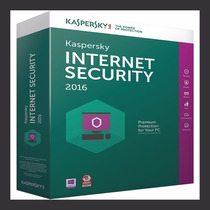 Kaspersky Internet Securitty 2016 | 2 Pcs |1 Ano | Promoçao