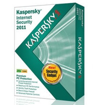 Kaspersky Internet Security 2011 - 03 Pcs Licença De 01 Ano