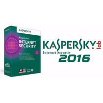 Kaspersky Internet Security 2016 - 3 Pcs - 2 Anos