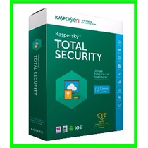 Kaspersky Total Security 2016 Multi Dispositivos 3 Pcs 1 Ano