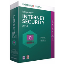 Kaspersky Internet Securiity 2016 3 Pcs 1 Ano !!!