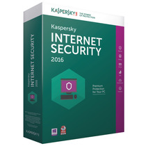 Kaspersky Internet Securitty 2016 2 Pcs 1 Ano Original