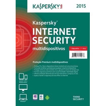 Kaspersky Internet Securitty 2015 - 1 Pc 1 Ano