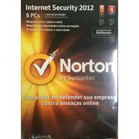 Norton Internet Security 5 Usuários Cd Na Caixa Lacrada