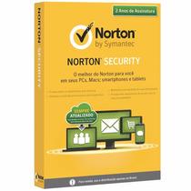 Norton Security Premium 2015 O Melhor Da Norton 2 Anos3 Pc