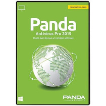 Panda Anti-vírus Pro 2015 - Original - Lacrado - 1 Licença