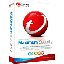 Trendmicro Titanium Security 2014 - 06 Pc / 01 Ano 365 Dias