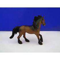 Brinquedo Miniatura Cavalo Em Pvc 13 Cm Decoração