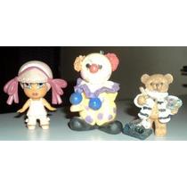 Brinquedos Lote C/ 3 Personagens Miniaturas (a3)