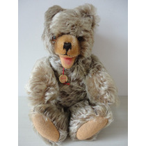 Ultra Raro Urso Hermann Teddy Original 30 Cm De Altura