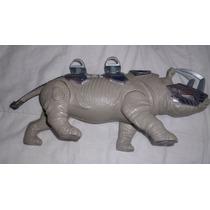 Brinquedo Antigo Rinoceronte De Guerra