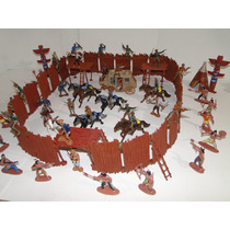 Forte Apache Paliçada Soldados Indios Carruagem Cowboys