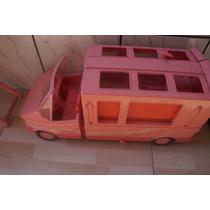 Onibus Antigo Da Barbie- Sem Acessórios