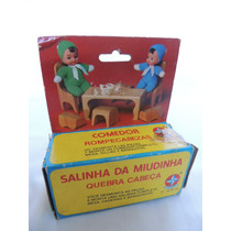 Brinquedo Antigo - Salinha Da Miudinha Quebra - Cabeça