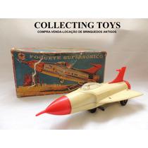 Brinquedo Antigo - Foguete Supersônico - Estrela 60