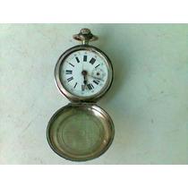 Antigo Relógio De Bolso Jules Calame-géneve De Prata