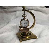 Relógio Antigo De Bolso Elgin Caçador - Ano 1912