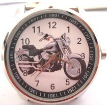 Relógio Moto Harley Sport Metal Unissex Pulso Alta Precisão
