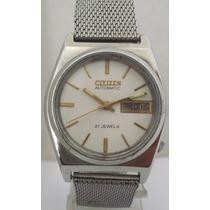 Relógio Japan Citizen Automático Antigo Coleção 21 Jewels