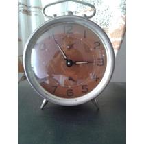 Relógio Despertador Antigo Herweg A Corda