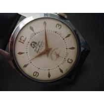 Relógio Cavalo Mustang Ponin Master Suiço Antigo Coleção