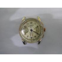 Relógio De Ouro 18k (750) Wema Chronographe Suisse.