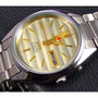 Relógio Automático Aço Orient Mostrador Dourado