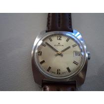 Relógio Antigo Edox A Corda-swiss Made