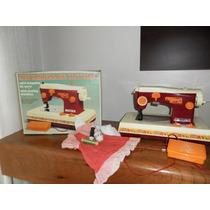 Brinquedo Mini Maquina De Costura Da Estrela Anos 80