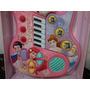 Guitarra Eletrônica Infantil Princesas Som Luz 55cm - Fret16