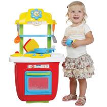 Cozinha Portátil Colorida P/criança Vira Maleta 1019 Maral