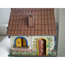 Casa De Bonecas Toda Mobiliada
