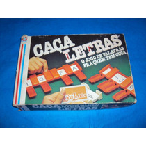 Brinquedo Antigo, Jogo Caça Letras Da Estrela Com Manual.