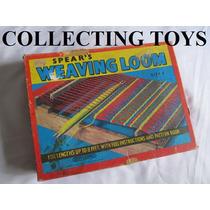 Brinquedo Antigo De Tear - Tecelagem - Lã - Algodão - Bordar