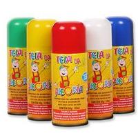 Tinta Spray Para Cabelos(sai Fácil Na Água)caixa C/12spray