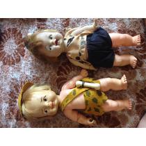Brinquedo Antigo Estrela Pedrita E Banban Lindos Perfeito