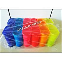 P/ Pipa - Porta Linha Oval Fluorescente - Pacote 12 Unidades